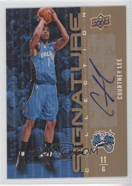 2009-10 Upper Deck - Signature Collection - [Autographed] #54 - Courtney Lee