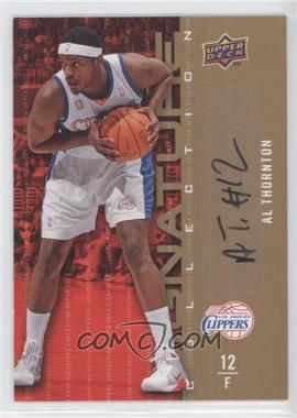 2009-10 Upper Deck - Signature Collection - [Autographed] #90 - Al Thornton