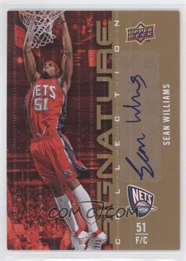 2009-10 Upper Deck - Signature Collection - [Autographed] #99 - Sean Williams