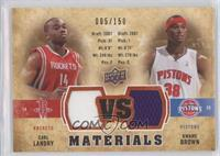Carl Landry, Kwame Brown /150