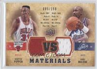 Scottie Pippen, Karl Malone /150
