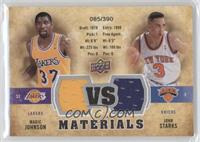 Magic Johnson, John Starks /390