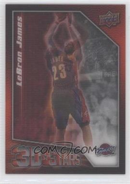 2009-10 Upper Deck 3D Stars #3D-LJ - Lebron James