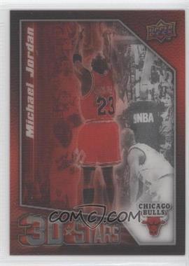 2009-10 Upper Deck 3D Stars #3D-MJ - Michael Jordan
