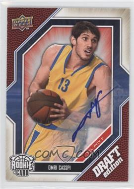 2009-10 Upper Deck Draft Edition - [Base] - Autograph #67 - Omri Casspi