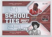 Reggie Theus, Larry Johnson /99
