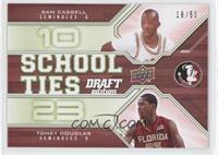 Sam Cassell, Toney Douglas /50