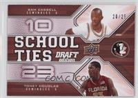 Sam Cassell, Toney Douglas /25