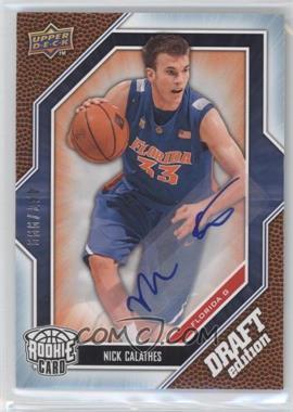 2009-10 Upper Deck Draft Edition Autograph Blue #66 - Nick Calathes /999