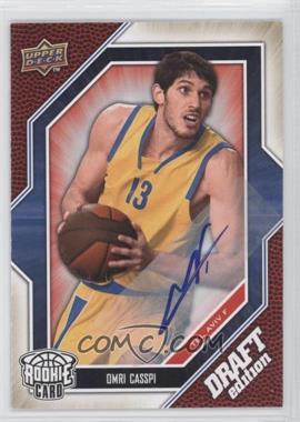 2009-10 Upper Deck Draft Edition Autograph #67 - Omri Casspi