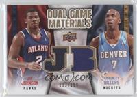 Joe Johnson, Chauncey Billups /150