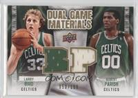 Larry Bird, Robert Parish, Michael Leon Carr /150
