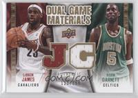 Kevin Garnett, LeBron James /150