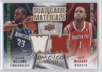 Tracy McGrady, Shelden Williams /150