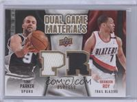 Brandon Roy, Tony Parker /150