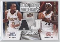 Gilbert Arenas, LeBron James