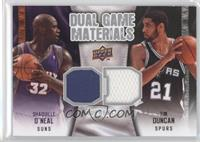 Tim Duncan, Shaquille O'Neal