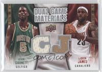 Kevin Garnett, LeBron James