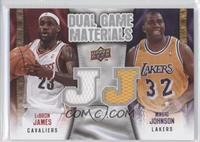 Lebron James, Magic Johnson
