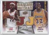 Lebron James, Marion Jones, Magic Johnson /150