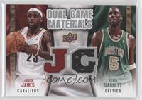 Lebron James, Kevin Garnett