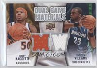 Corey Maggette, Shelden Williams