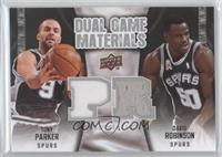 Tony Parker, David Robinson