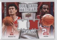 Yao Ming, Moses Malone