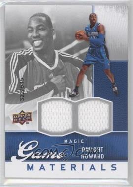 2009-10 Upper Deck Game Materials #GJ-DH - Dwight Howard /545