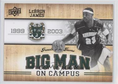 2009-10 Upper Deck Greats of the Game #113 - Lebron James