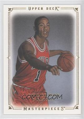 2009-10 Upper Deck Masterpieces #MA-DR - Derrick Rose