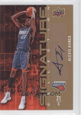 2009-10 Upper Deck Signature Collection [Autographed] #1 - Alexis Ajinca