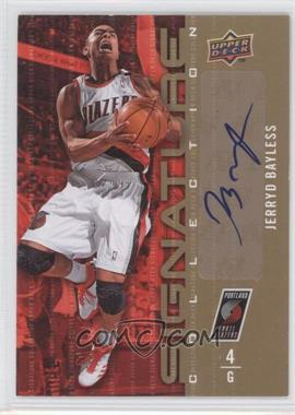 2009-10 Upper Deck Signature Collection [Autographed] #10 - Jerryd Bayless