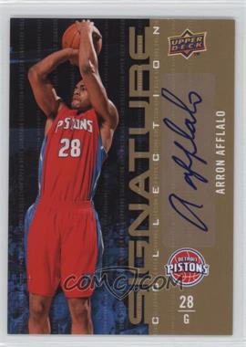 2009-10 Upper Deck Signature Collection [Autographed] #102 - Arron Afflalo