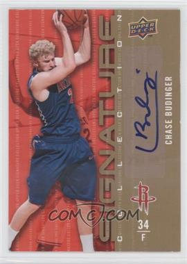 2009-10 Upper Deck Signature Collection [Autographed] #106 - Chase Budinger