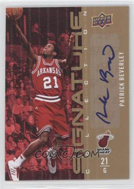 2009-10 Upper Deck Signature Collection [Autographed] #112 - Patrick Beverley