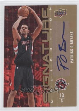 2009-10 Upper Deck Signature Collection [Autographed] #116 - Patrick O'Bryant