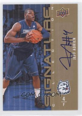 2009-10 Upper Deck Signature Collection [Autographed] #122 - Jeff Adrien