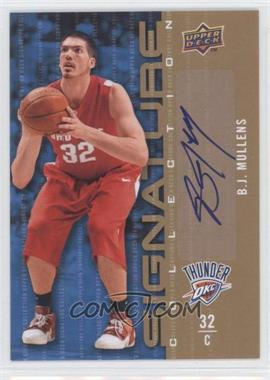 2009-10 Upper Deck Signature Collection [Autographed] #128 - B.J. Mullens
