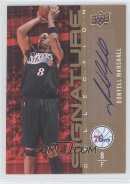 2009-10 Upper Deck Signature Collection [Autographed] #133 - Donyell Marshall