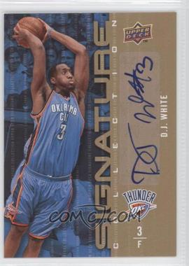 2009-10 Upper Deck Signature Collection [Autographed] #138 - D.J. White