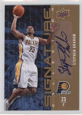 2009-10 Upper Deck Signature Collection [Autographed] #14 - Stephen Graham