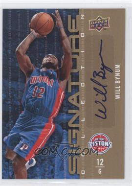 2009-10 Upper Deck Signature Collection [Autographed] #144 - Will Bynum