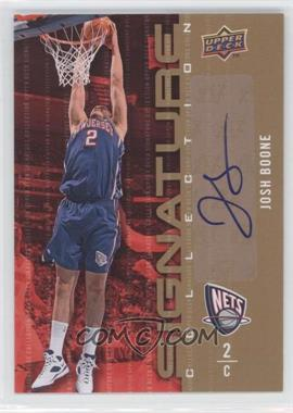 2009-10 Upper Deck Signature Collection [Autographed] #15 - Josh Boone