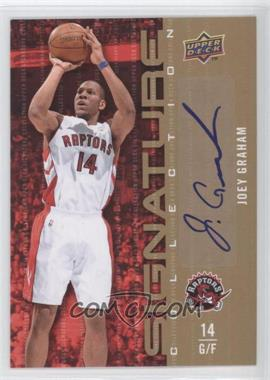 2009-10 Upper Deck Signature Collection [Autographed] #177 - Joey Graham