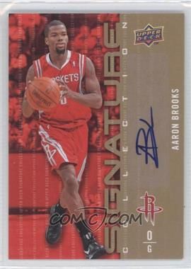 2009-10 Upper Deck Signature Collection [Autographed] #184 - Aaron Brooks