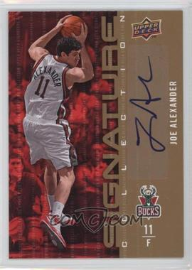2009-10 Upper Deck Signature Collection [Autographed] #2 - Joe Alexander