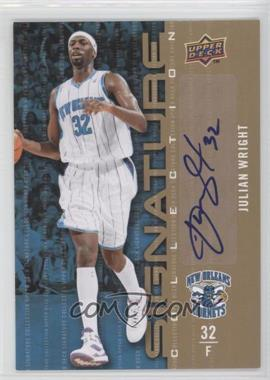 2009-10 Upper Deck Signature Collection [Autographed] #200 - Julian Wright