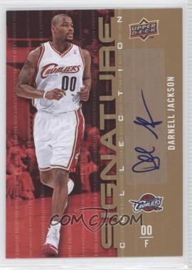 2009-10 Upper Deck Signature Collection [Autographed] #46 - Darnell Jackson
