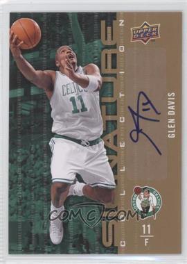 2009-10 Upper Deck Signature Collection [Autographed] #53 - Glen Davis